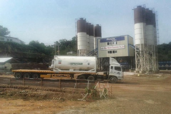 Transport pure CO2 tank from Thailand to Coca Cola, Pepsi ... plant in Vietnam for several years